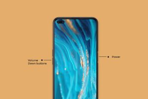 Taking Screenshot on Oppo Using Hardware Buttons